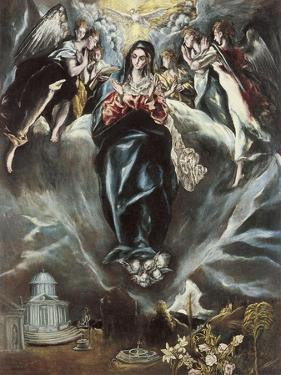 The Immaculate Conception, Ca. 1608-1614 by El Greco