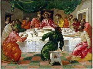 The Last Supper, 1567-70 by El Greco