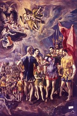 The Martyrdom of St Maurice, 286 (C1580-158) by El Greco