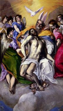 The Trinity, 1577-79 by El Greco