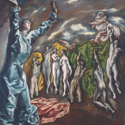The Vision of Saint John, c.1608–14 by El Greco
