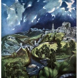 Toledo, Spain, 1597-1599 by El Greco