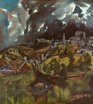 View of Toledo, 1597 by El Greco