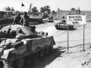 El Hamma, North Africa, World War Two, April 1943