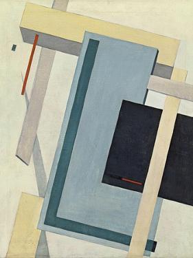 Proun 4 B, 1919-1920 by El Lissitzky