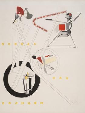 Victory Over the Sun, 1. Part of the Show Machinery by El Lissitzky