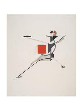 Victory Over the Sun, 10. New Man by El Lissitzky