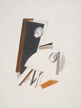 Victory Over the Sun, 4. Anxious People by El Lissitzky