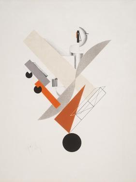 Victory Over the Sun, 5. Globetrotter (in Time) by El Lissitzky