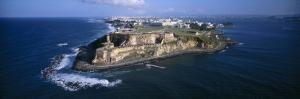 El Morro, Water, Puerto Rico, USA