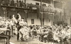El Paseo, Flamenco Dancers at Restaurant, Santa Barbara, California