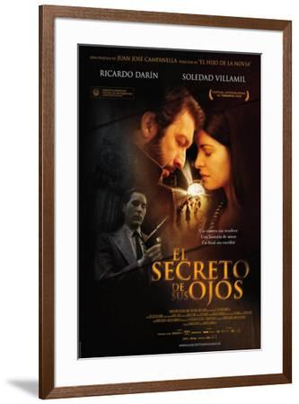 El Secreto de sus Ojos - Spanish Style--Framed Poster
