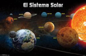 El Sitema Solar 2013 (Solar System Spanish)