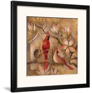 Elegance in Red I by Elaine Vollherbst-Lane