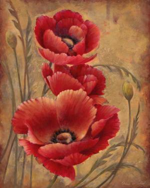 Poppy Passion I by Elaine Vollherbst-Lane