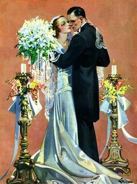 """""""Bridal Couple Dancing,""""June 6, 1931 by Elbert Mcgran Jackson"""