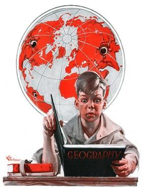 """Geography,""September 29, 1923 by Elbert Mcgran Jackson"