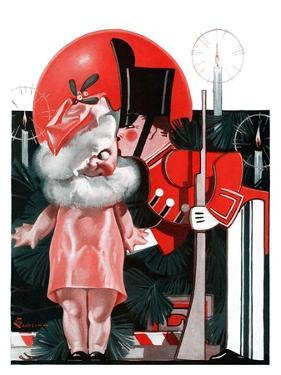 """""""Kewpie Doll Kiss,""""December 27, 1924 by Elbert Mcgran Jackson"""