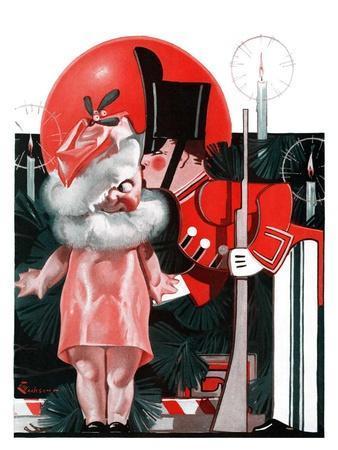 """""""Kewpie Doll Kiss,""""December 27, 1924"""