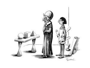 New Yorker Cartoon by Eldon Dedini
