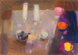 Vessels With Bright Cups by Ele Pack