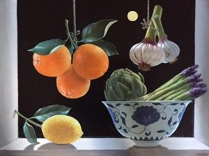 Hanging Oranges by ELEANOR FEIN