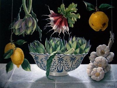Radishes, Artichokes and Garlic