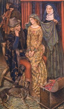 Geraint and Enid by Eleanor Fortescue Brickdale
