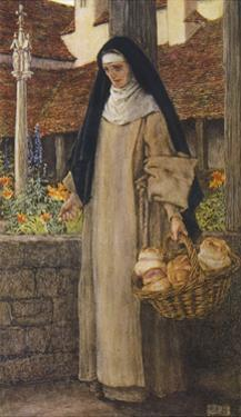 Guinevere a Nun by Eleanor Fortescue Brickdale