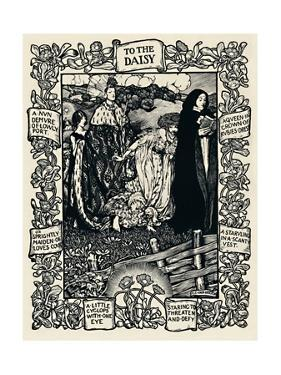 'Illustration to Wordsworth's Poem To The Daisy, No. 2', 1923 by Eleanor Fortescue-Brickdale