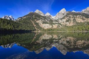 Reflection of the Teton Range by Eleanor