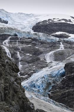 Blue Ice of Kjenndalen Glacier, Jostedalsbreen National Park, Lodal Valley by Eleanor Scriven
