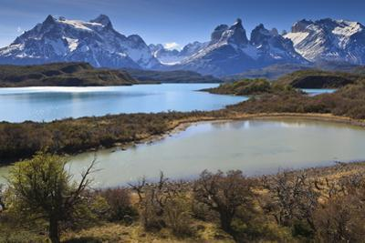 Lago Pehoe and Cordillera Del Paine in Late Afternoon, Torres Del Paine National Park, Patagonia by Eleanor Scriven