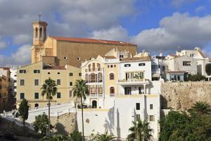 Mahon (Mao), Menorca, Balearic Islands, Spain, Mediterranean, Europe by Eleanor Scriven