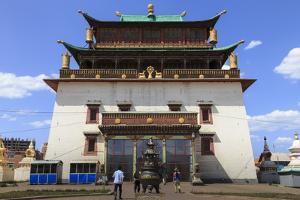 Migjid Janraisig Sum, Mongolia by Eleanor Scriven