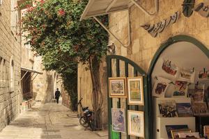 Street Scene, Old City, Jerusalem, UNESCO World Heritage Site, Israel, Middle East by Eleanor Scriven