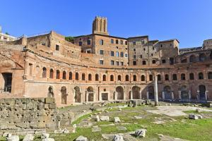 Trajan's Markets, Forum Area, Rome, Lazio, Italy, Europe by Eleanor Scriven