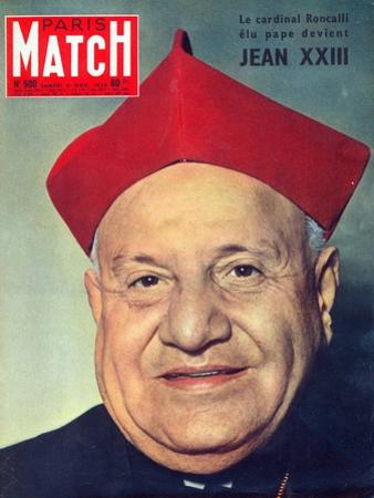 Election of Cardinal Roncalli as Pope John XXIII, 1958