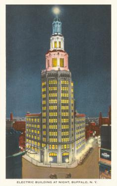 Electric Building at Night, Buffalo, New York