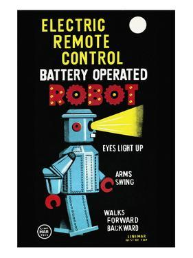 Electric Remote Control Battery Operated Robot