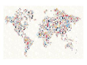 Electronics World Map