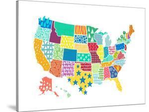 Us Texture Map by Elena David