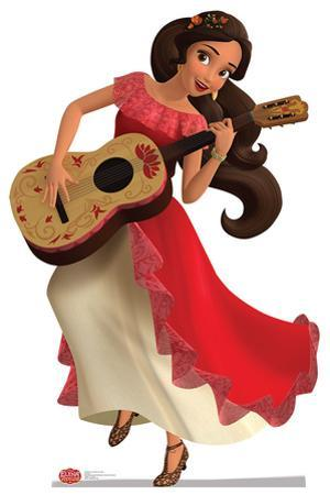 Elena of Avalor with Guitar