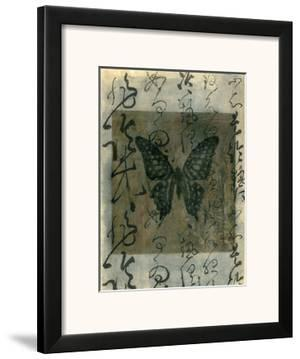 Butterfly Calligraphy III by Elena Ray