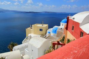 Caldera, Oia, Santorini, Greece by Elenarts