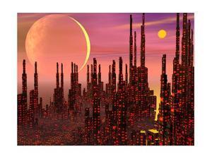 Fantasy City - 3D Render by Elenarts