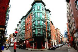Square in Old Boston by elenathewise