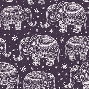 Elephants- Batik
