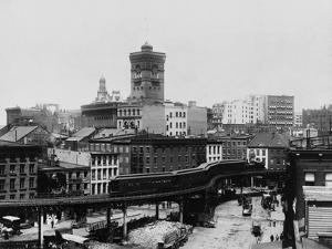 Elevated Railroad in New York City