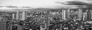 Elevated View of Skylines in a City, Makati, Metro Manila, Manila, Philippines